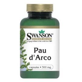Swanson Premium Brand Pau d' Arco 500 mg N100 maisto papildas