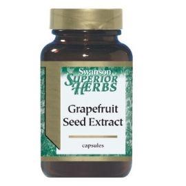 Swanson Superior Herbs Greipfrutų sėklų ekstraktas N100 500 mg maisto papildas, skirtas imuninei sistemai stiprinti