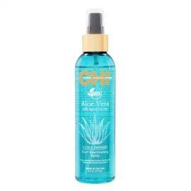 Garbanas išryškinantis purškiklis plaukams CHI Aloe Vera Defined Curl Reactivating Spray 177ml