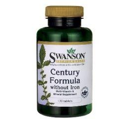 Swanson Premium Brand maisto papildas super multivitaminų ir mineralų kompleksas be geležies N130