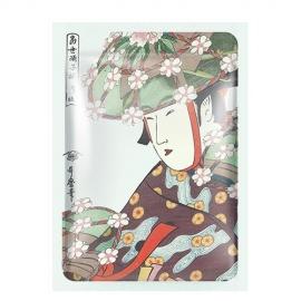 MITOMO Veido kaukė su alaviju ir sakura Mitomo Aloe + Cherry Blossom Essence Mask 25g