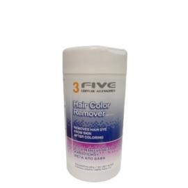 Farcom professional Drėgnos servetėlės FARCOM 3 Five Hair Color Remover 100 vnt.