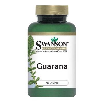 Swanson Premium Brand Guarana 500mg N100 maisto papildas, skirtas energingumui didinti