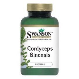 Swanson Premium Brand Kordicepsas (Cordyceps Sinensis) 600 mg N120 maisto papildas