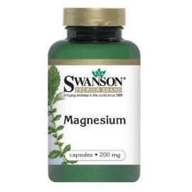 Swanson Premium Brand Magnis N250, maisto papildas skirtas nervų ir raumenų sistemos veiklai gerinti