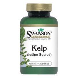Swanson Premium Brand KELP N250 (rusvasis dumblis), maisto papildas- jodo šaltinis