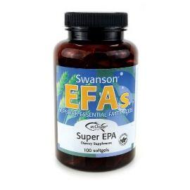 Swanson EFAs Linų sėmenų aliejus (Flaxseed Oil) 1000 mg N100 maisto papildas