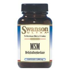 Swanson Ultra MSM (Metilsulfonilmetanas) 1000 mg N120 maisto papildas