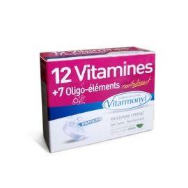 Yves Ponroy 12 vitaminų ir 7 mikroelementų kompleksas, maisto papildas nuovargiui ir energijos trūkumui įveikti