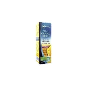 Yves Ponroy Grand Spray purškiklis gerklei jaučiant burnos ir gerklės diskomfortą peršalus