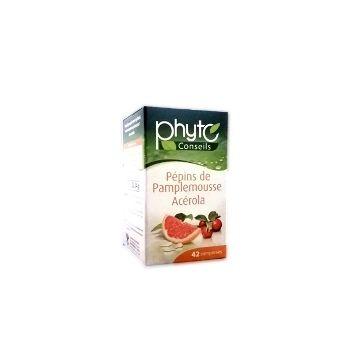 Yves Ponroy Phyto Conseils Greipfrutų sėklų ekstraktas + vyšnių ekstraktas maisto papildas sveikatai ir grožiui