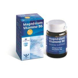 Yves Ponroy Magnis + Vitaminas B6 stipresnei sveikatai- padeda nusiraminti ir gerai išsimiegoti