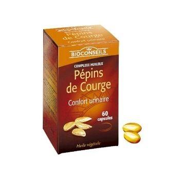 Yves Ponroy Bioconseils Moliūgo sėklų ekstraktas, maisto papildas gerai vyriškai formai ir pusiausvyrai
