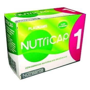 Yves Ponroy Nutrisante NutriCap maisto papildas plaukų grožiui