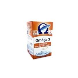 Yves Ponroy Vitarmonyl Laboratoires Omega-3 maisto papildas kraujagyslėms, regėjimui ir smegenų funkcijai gerinti