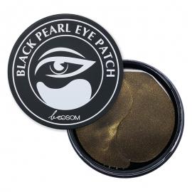 Hidrogelio paakių pagalvėlės Be Osom Black Pearl Hydrogel Eye Patch BEOSOMEPBP, su juodaisiais perlais, 60 pagalvėlių